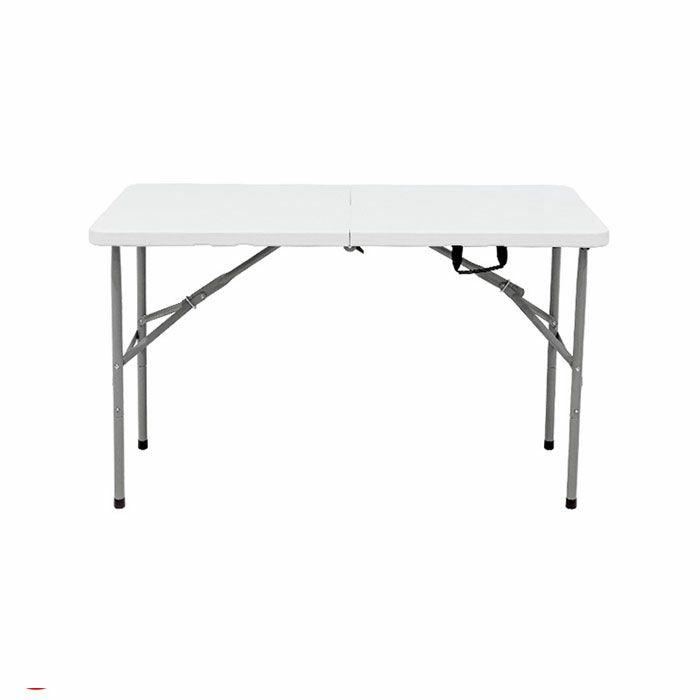 折り畳みテーブル(大) 防水 ダイニングテーブル ホワイト プラスチック テレワーク机にも テレワークデスク アウトドアやガーデン用にも最適